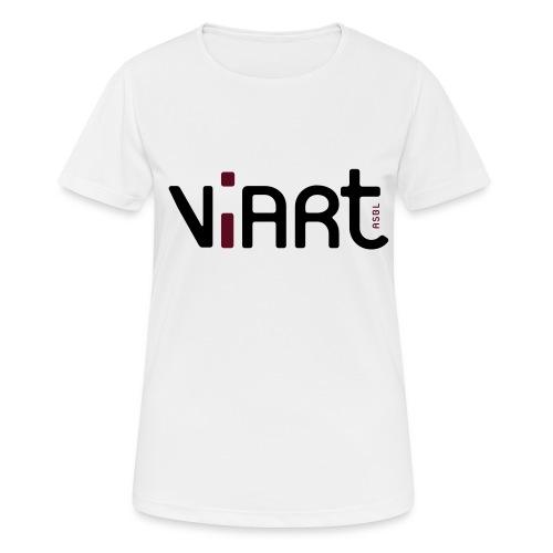 viart logo vect 2coul - Frauen T-Shirt atmungsaktiv