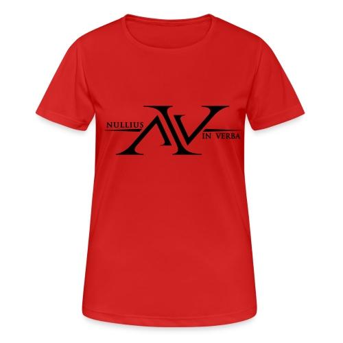 Nullius In Verba Logo - Women's Breathable T-Shirt