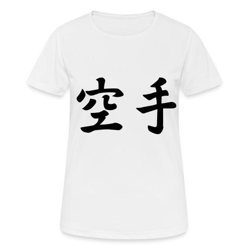 karate - Vrouwen T-shirt ademend actief