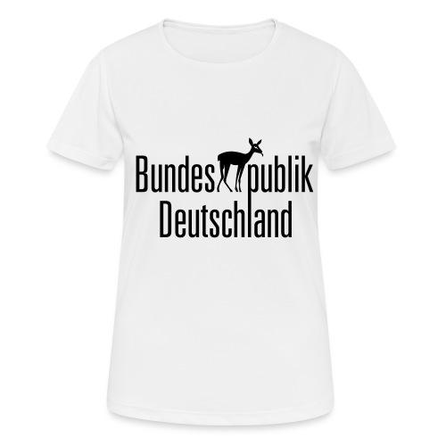 BundesREHpublik_D - Frauen T-Shirt atmungsaktiv