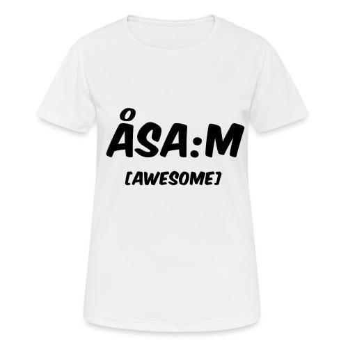 Åsa:m [awesome] - Andningsaktiv T-shirt dam