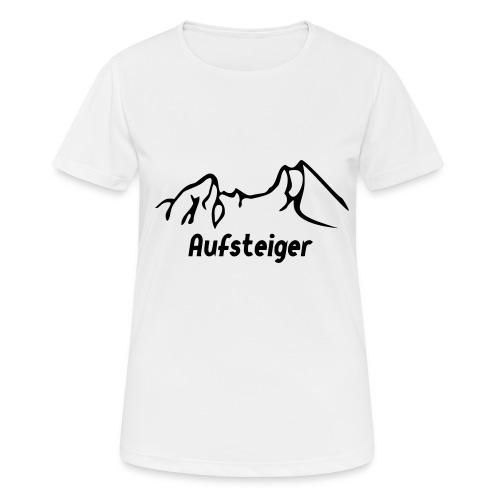 Bergsteiger Shirt - Frauen T-Shirt atmungsaktiv