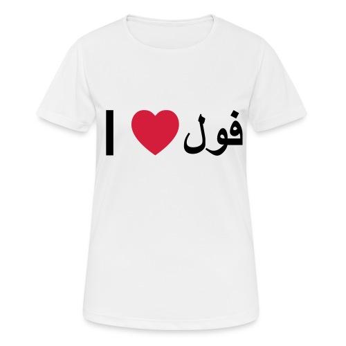 I heart Fool - Women's Breathable T-Shirt