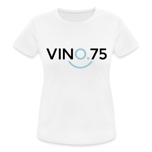 VINO75 - Maglietta da donna traspirante