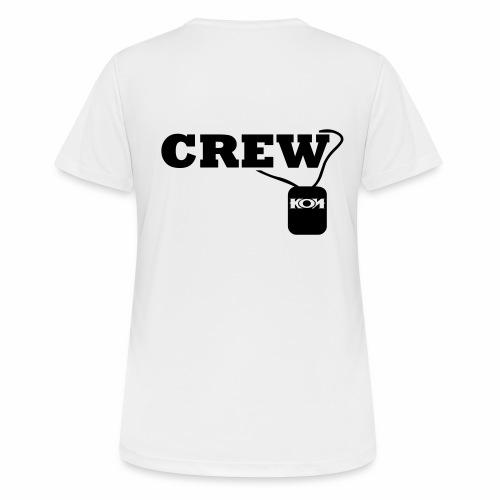 KON - Crew - Frauen T-Shirt atmungsaktiv