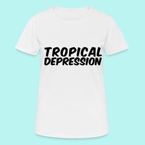 Tropical Depression - Frauen T-Shirt atmungsaktiv