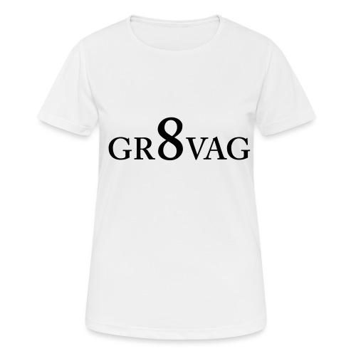 GR8VAG - naisten tekninen t-paita