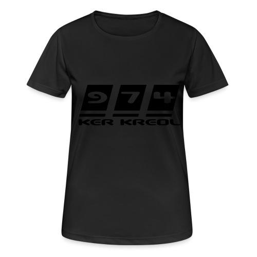 Ecriture 974 Ker Kreol - T-shirt respirant Femme