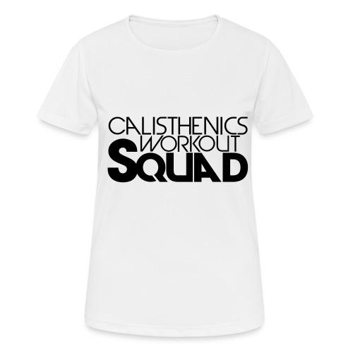 CWS Logo - Frauen T-Shirt atmungsaktiv