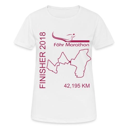 ziel_m_2018 - Frauen T-Shirt atmungsaktiv