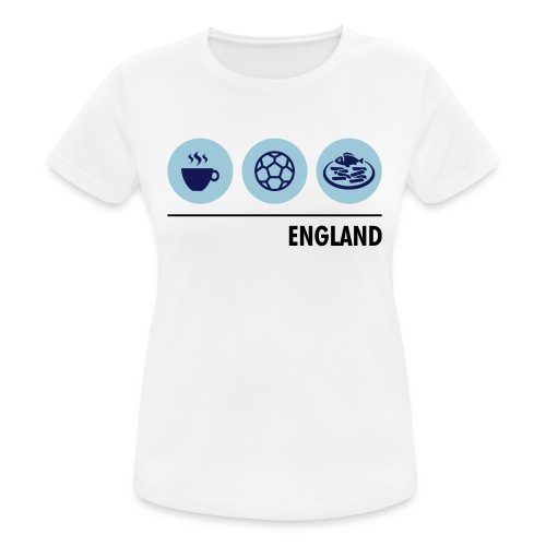 Circles - England - Women's Breathable T-Shirt