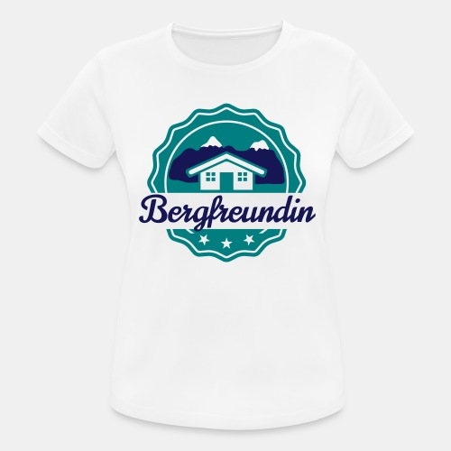 Bergfreundin - Frauen T-Shirt atmungsaktiv