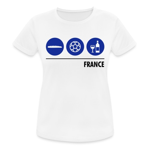 Circles - France - Women's Breathable T-Shirt