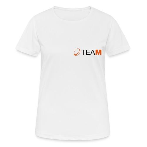 Rugby-Team - T-shirt respirant Femme