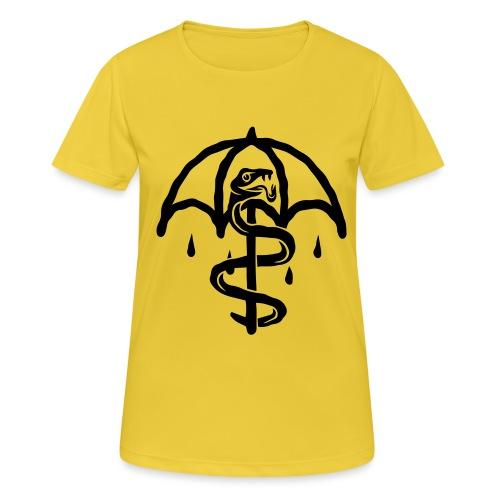 UMBRELLASNAKE - Camiseta mujer transpirable