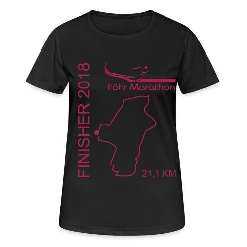 ziel_hm_2018 - Frauen T-Shirt atmungsaktiv