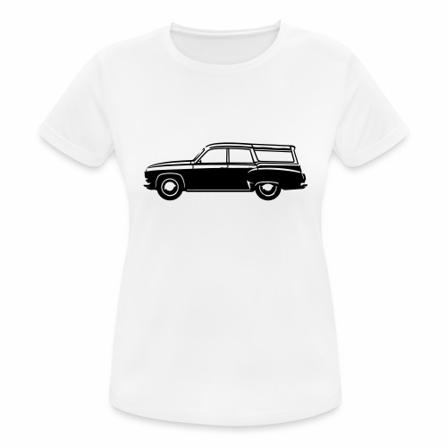Vintage camping - Women's Breathable T-Shirt