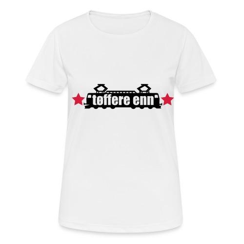tøffere enn toget - Pustende T-skjorte for kvinner