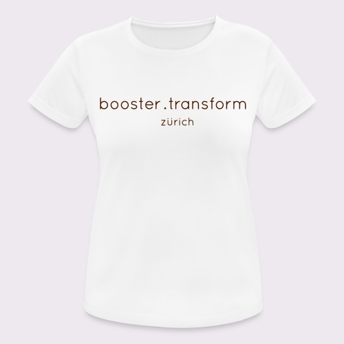 booster.transform zürich - Women's Breathable T-Shirt