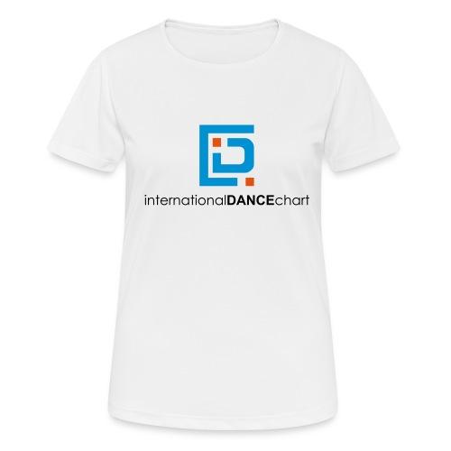 International Dance Chart - Camiseta mujer transpirable