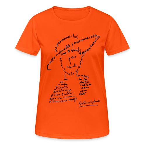 calligramme - Lou au chapeau - T-shirt respirant Femme