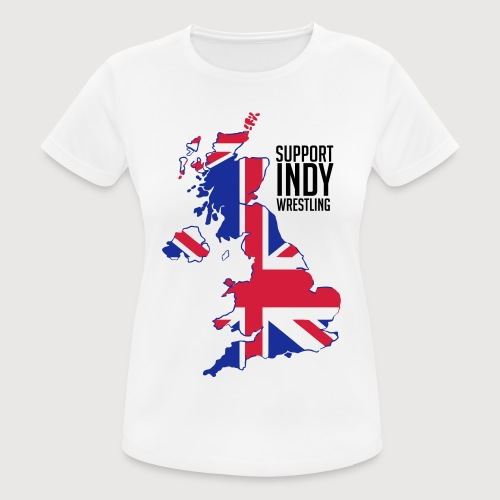 Indy Britain - Women's Breathable T-Shirt