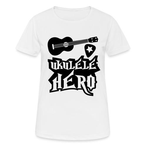 Ukelele Hero - Women's Breathable T-Shirt