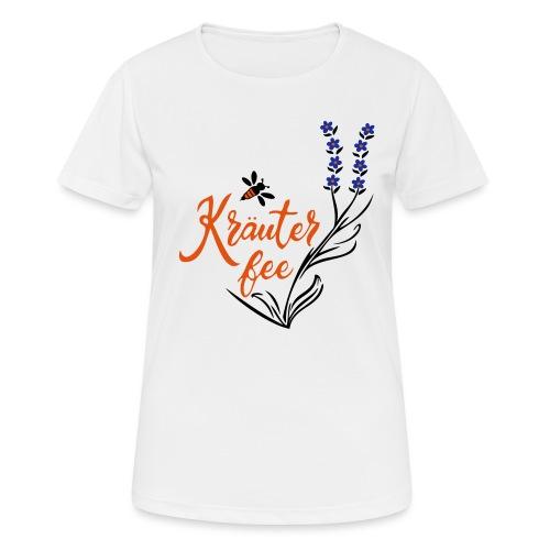 Kräuter Fee, Biene, Umwelt - Frauen T-Shirt atmungsaktiv
