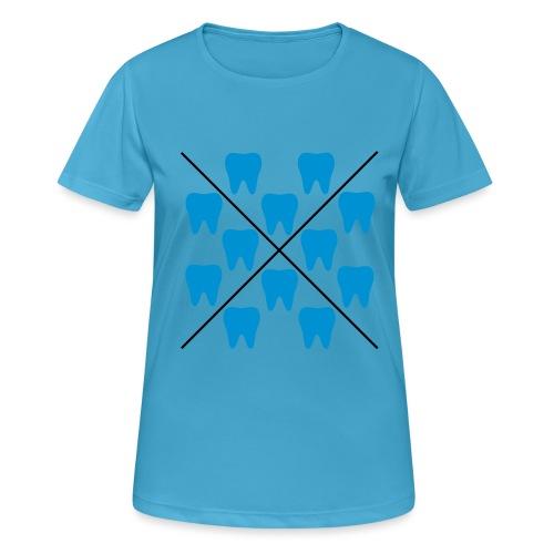 Zähne - Frauen T-Shirt atmungsaktiv