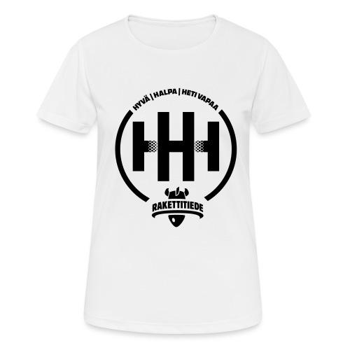 HHH-konsultit logo - naisten tekninen t-paita