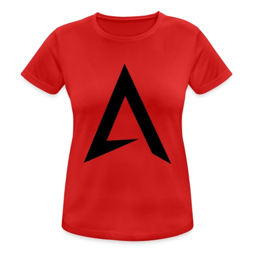 alpharock A logo - Women's Breathable T-Shirt