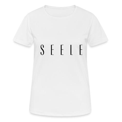 SEELE - Text Cap - naisten tekninen t-paita