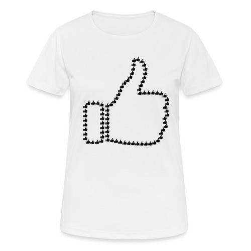 Zustimmung aus Daumen - Frauen T-Shirt atmungsaktiv