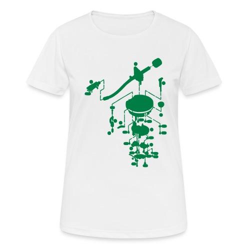 tonearm05 - Vrouwen T-shirt ademend actief