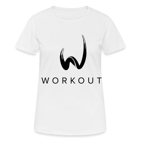 Workout mit Url - Frauen T-Shirt atmungsaktiv
