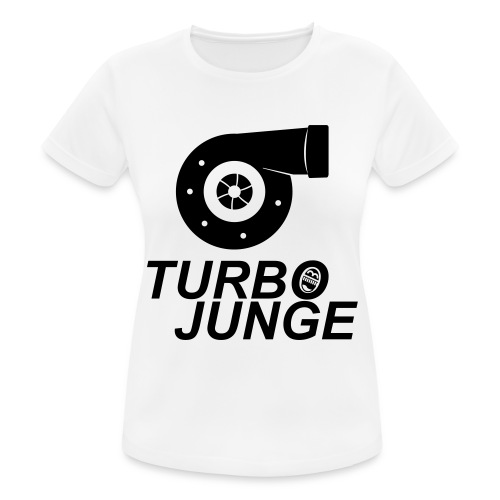Turbojunge! - Frauen T-Shirt atmungsaktiv