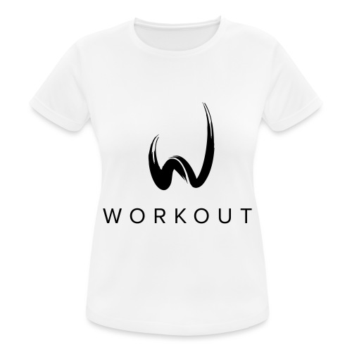 Workout mit Url - Frauen T-Shirt atmungsaktiv