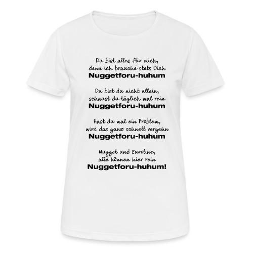Du bist alles für mich - Frauen T-Shirt atmungsaktiv