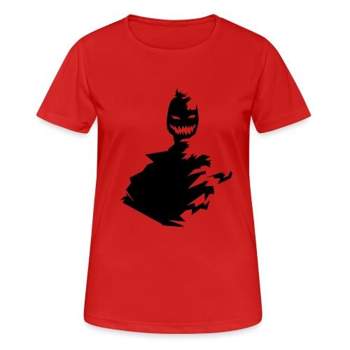 t shirt monster (black/schwarz) - Frauen T-Shirt atmungsaktiv