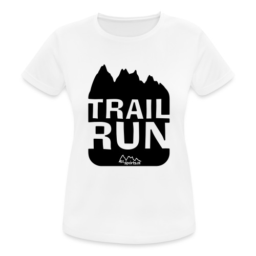 Trail Run - Frauen T-Shirt atmungsaktiv