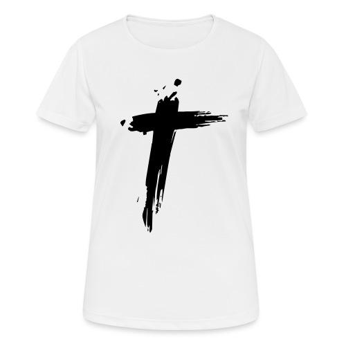 Cross - Vrouwen T-shirt ademend actief