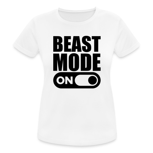 BEAST MODE ON - Women's Breathable T-Shirt