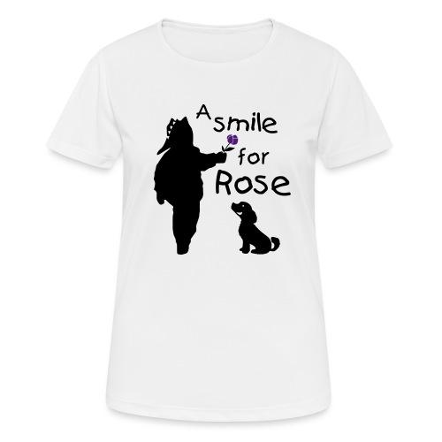 A Smile for Rose - Maglietta da donna traspirante