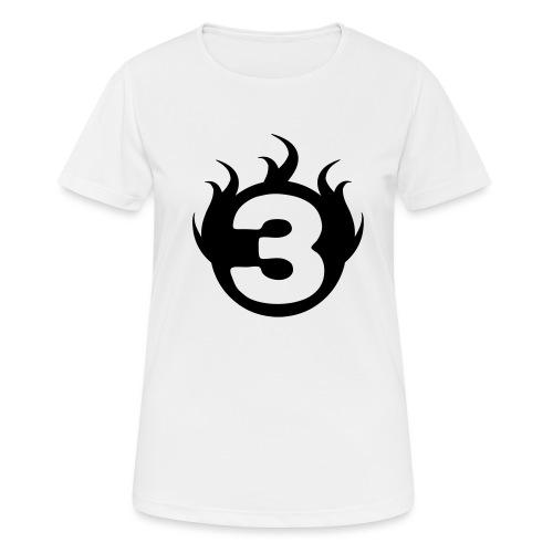 shoulder logoc - T-shirt respirant Femme
