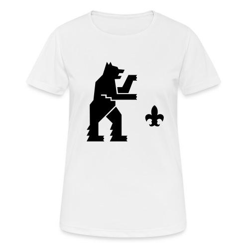 hemelogovektori - naisten tekninen t-paita