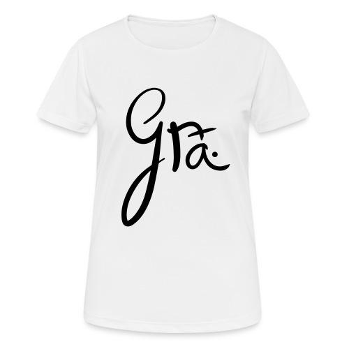 logo-trans-ai - Vrouwen T-shirt ademend actief