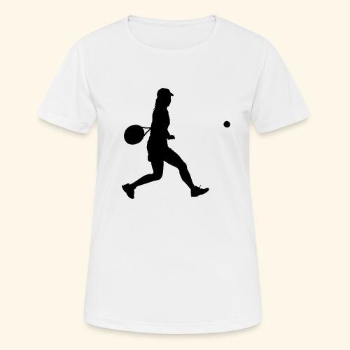 tennis woman 2 - T-shirt respirant Femme