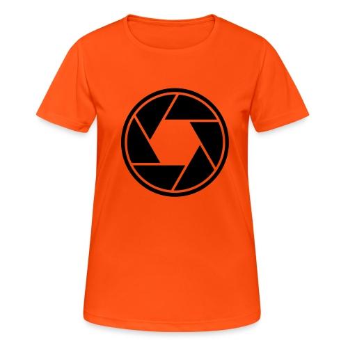 camera02 - Frauen T-Shirt atmungsaktiv