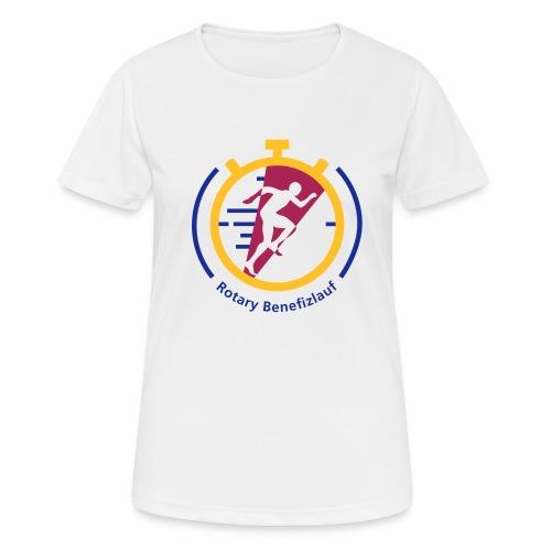 Rotary Benefizlauf Merchandise - Frauen T-Shirt atmungsaktiv