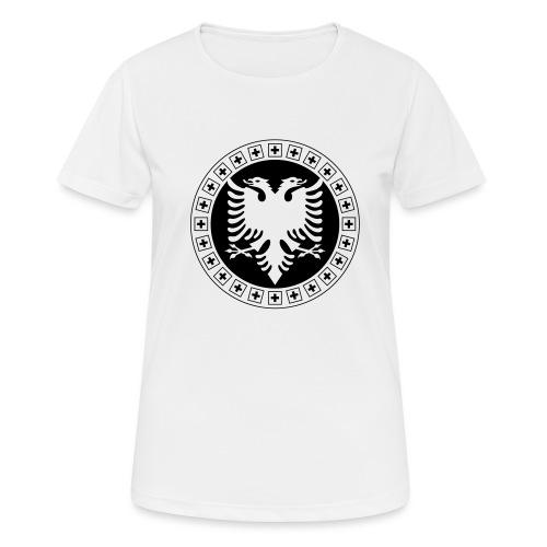 Albanien Schweiz Shirt - Frauen T-Shirt atmungsaktiv